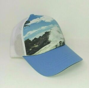NEW! Columbia Mesh Baseball Cap Hat - One Size, Rocky Beach/Blue