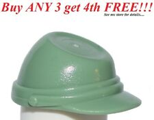 ☀️NEW Lego City Boy/Girl Minifig Hat Sand Green Headgear Calvary Cap (kepi) Army