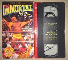 WWF - The Immortal Hulk Hogan (VHS, 1992) WWE WCW NWO COLISEUM VIDEO RARE