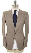 Tom Ford Peak Lapel Sport Coat Blazer Jacket 48 38 Brown 14SC0111 $3900