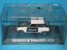 Renault 5 Police Parisienne 1974 - Universal Hobbies 1/43