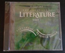 The Language of Literature Grade 8: Electronic Teacher Tools (Cd-Rom) New Sealed