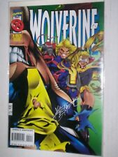 WOLVERINE 99  SIGNED BY VAL SEMEIKS  MARVEL COMIC LOT