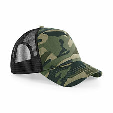 Camouflage Baseball Cap Military Army Camo Hat Trucker Snapback Mens Womens