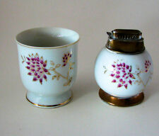 Antique Japanese Porcelain Nasco Imperial China Cigarette Cup, Cigarette Lighter