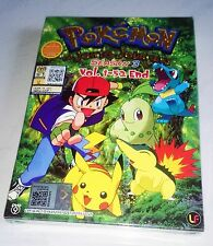 POKEMON JOHTO JOURNEYS Complete ENG Anime TV Series Ep.1 - 52 End DVD Box Set