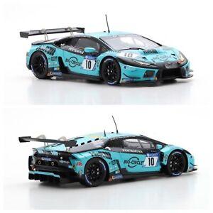 1/43 Spark Lamborghini Huracán GT3 N°10 24H Nürburgring 2018 M.DI Martino Neuf