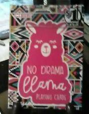 2018 New Deck Of Premier No Drama Llama Playing Cards