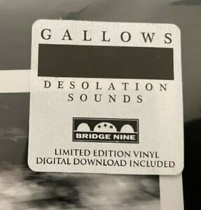 """Gallows """"Desolation Sounds"""" - NEW - Limited Edition LP - FREE POSTAGE"""