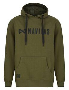 Navitas Core Range Hoodie Hoody Green *All Sizes* NEW Carp Fishing Clothing