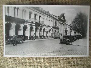 RPPC CHILE PORTALES OLD CARS CONCEPCION c 1930