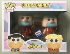 Funko Pop Exclusive Gemini Collectibles FRED FLINTSTONE & BARNEY RUBBLE 2 PACK