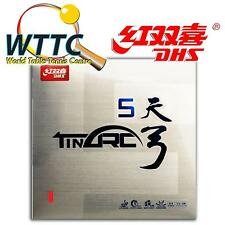 Double Happiness DHS TINARC 5 MAX Soft Table Tennis Rubber - RED