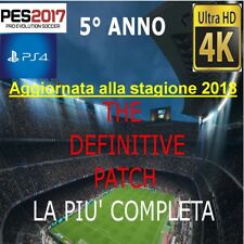 PATCH PES 2017 PS4 STAGIONE 2018 OPTION FILE