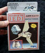 STAR WARS RETURN OF THE JEDI  SHUTTLE TYDIRIUM  MIRROR MODELS KIT 1984 VINTAGE