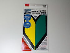 WAKABA LEAF MAGNET TYPE BEGINNER VEHICLE DRIVER MARK JDM JAPAN SHOSHINSHA