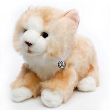 Katze CARAMELLO Norwegische Waldkatze liegend creme 33 cm
