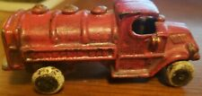 "Champion Gas Truck, 1930's . 4-3/4"" inch cast iron toy truck"