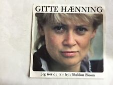 Gitte Haenning - Jeg tror du ta´r fejl = holländische Version - Freu dich bloß n