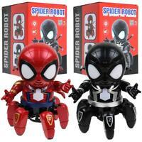 Danse Six Griffes Spiderman Jouet Modèle Musique Lumière Robot Hyun Électrique