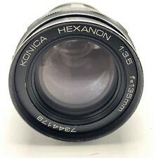Konica Hexanon 135mm F/3.5 Lens