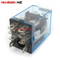 10PCS 12V Small Relay Omron LY2NJ DC 10A 8PIN Coil DPDT