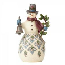 "HEARTWOOD CREEK by Jim Shore ""Bright & Merry (Victorian Snowman)"" 4058753"