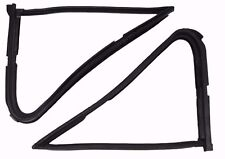 1980-1986 Ford Bronco, F150, F250 & F350 vent window weatherstrip seals, pair