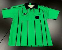 U.S. Soccer Federation Referee Program Jersey Shirt Men's XXL 2XL Green