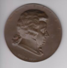 o.J. Österreich einseitige Medaille Wolfgang Amadeus Mozart