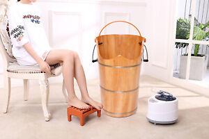 Foot bath fumigation bucket, sweat steaming massage footbath, footbath bucket