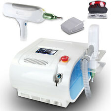 ND Q SWITCH YAG LASER TATTOO EYEBROW PIGMENT REMOVAL BEAUTY MACHINE 1000mJ COLD