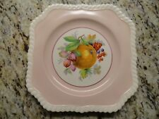 "JOHNSON BROTHERS OLD ENGLISH FRUIT  CHINA Square 7 1/2"" Salad Plate"
