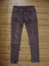 @ redial @ Jeans tube slim marron taille 36 size s