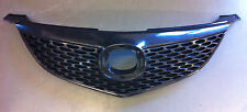 MAZDA 3 SEDAN BK SERIES 1 BLACK GRILL GRILLE 03 04 05 06