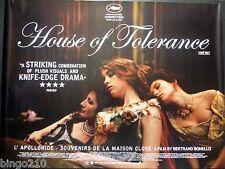 HOUSE OF TOLERANCE ORIGINAL 2011 QUAD POSTER NOEMIE LVOVSKY MAISON CLOSE