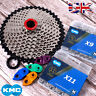 KMC 8/9/10/11S 116/118 Links MTB Bike Cassette Chain 11-40/42/46/50 Sprocket Cog