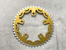 Snap BMX Products Series II 110mm 5 bolt Chainring - 44t Gold