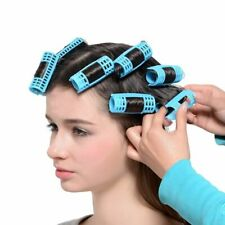 Plastic Spring Clips Hair Rollers Hairdressing Curlers DIY Hair Styling Tools