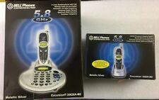 Northwestern Bell  35828A-M2 & 35829-M2 2 Line 2 Cordless business home Phone