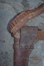 Vintage Boyt Des Moines IA, Brown Leather Gunbelt and Hunter Holster, CC-822-L