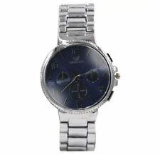 DOOKA Orlando Men's Silver Stainless Steel Strap Watch Z:375 (Blue Dial)