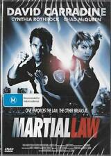 MARTIAL LAW - DAVID CARRADINE - NEW & SEALED DVDS FREE LOCAL POST