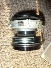 "Wollensak Tektronix Series 125 75mm 3"" F:1.9 1:0.9 Mag Lens Ilex Oscillo Paragon"