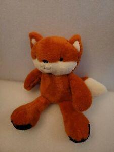 Lambs & Ivy Into the Woods Orange/White Plush Fox stuffed