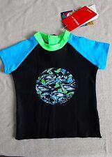 Speedo Baby Size 1 Shark Rash Shirt NWT