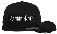 Linkin Park SNAPBACK 5/6 Panel CAP Yupoong / Flexfit - 1-farbiger Stick