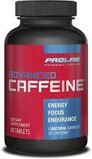 ProLab Nutrition Advanced Caffeine  60 tabs boosts energy levels