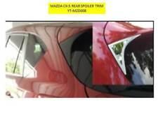MAZDA CX-5 REAR SPOILER TRIM BEZELS PLASTIC CHROME FINISH YT-MZD008