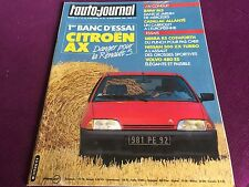 AUTO JOURNAL N°16 ANNEE 1986 BMW M3 FORD SIERRA COSWORTH NISSAN 300 ZX TURBO